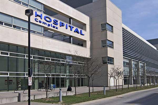 Hospital Parking Lot Signage