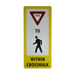 pedestrian decal