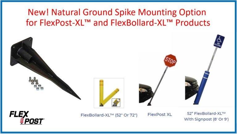 FlexPost XL - Natural Ground Spike