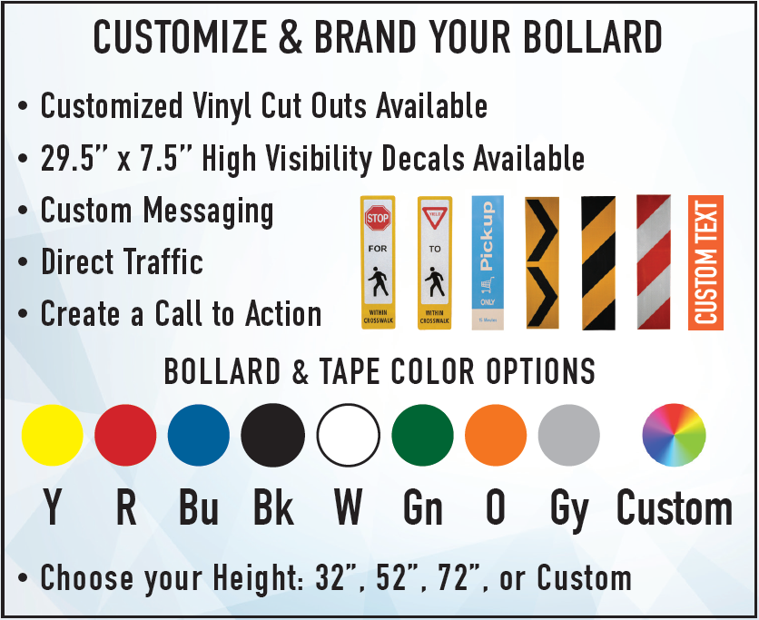 Customize and Brand Your Bollard with FlexPost