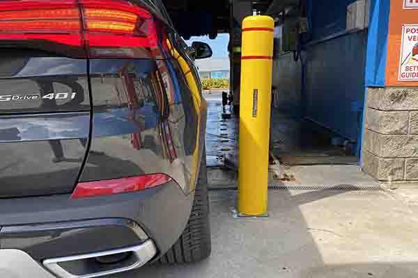 FlexPost Car Wash Installation