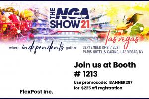 NGA Show Banner Promo Code